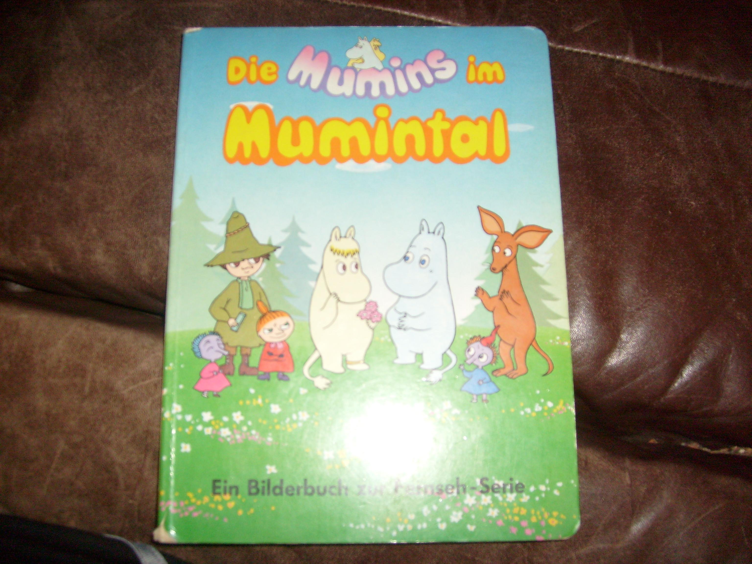 Bildtext: Die Mumins im Mumintal     . von Ein Bilderbuch zur Fernseh-Serie